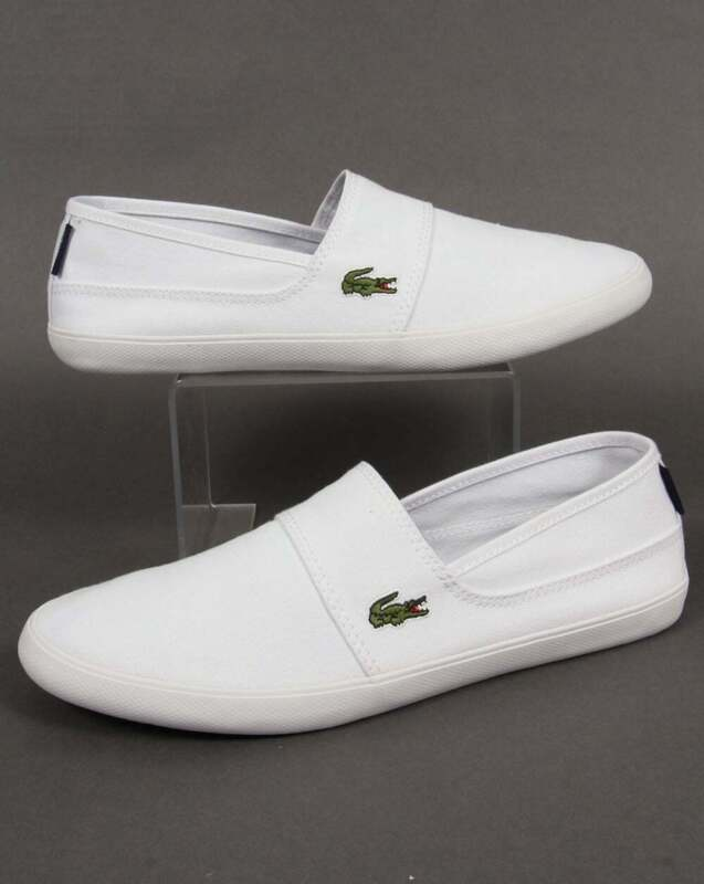 White canvas - plimsoll trainers shoes