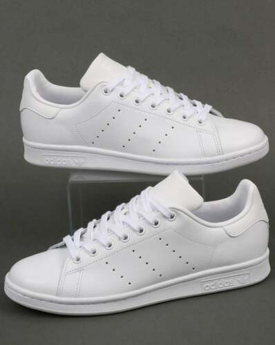 2214d2969dd3 adidas Originals - Adidas Stan Smith Trainers in Triple White - leather  classic