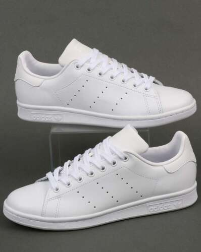 adidas Originals - Adidas Stan Smith Trainers in Triple White - leather classic