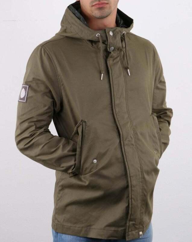 Green Short Parka Coat