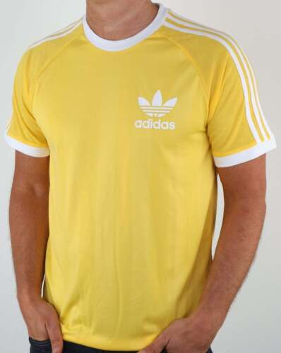Adidas originals summer california t shirt in citrus for Adidas ringer t shirt
