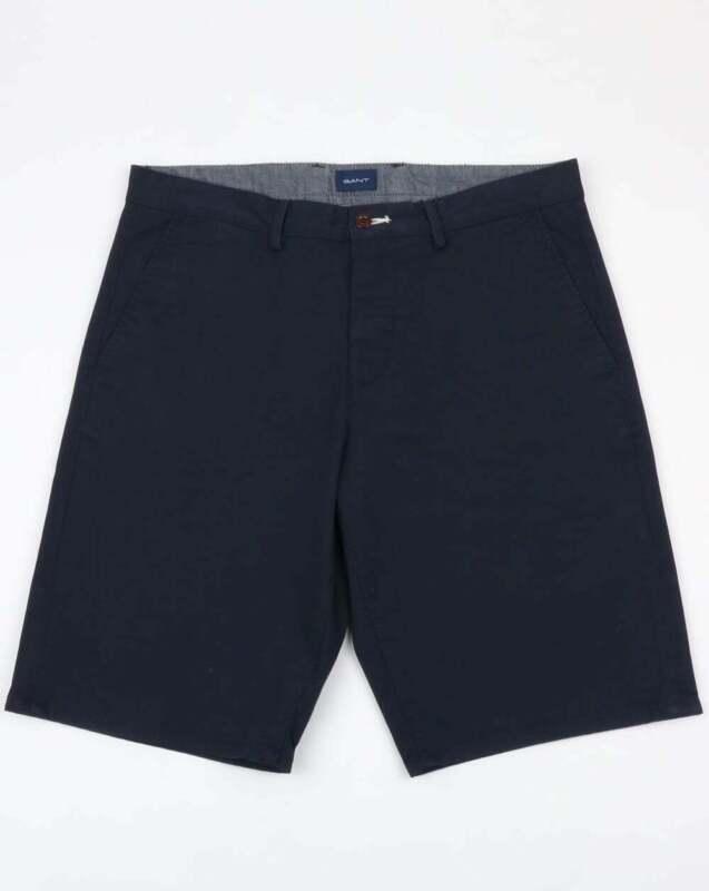 Navy - pockets Gant Relaxed Twill Shorts in Marine Blue chino shorts