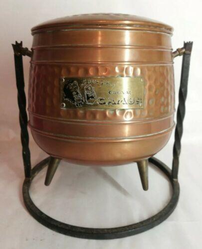 Cuve alambic cognac camus h28 cm vintage décoration, bistrot