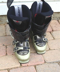 Womens fit Nordica adjustable ski boots