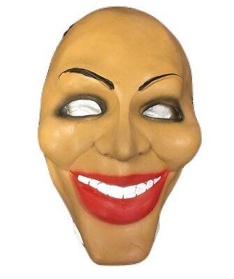 Latex Masken Uk (UK The Säuberung Film Maske Latex Kostüm geschnürt Halloween erwachsene Kinder)
