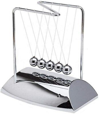 Newtons Cradle Z Shape Newton Cradle 7 Metal Pendulum Balls With Chrome Base