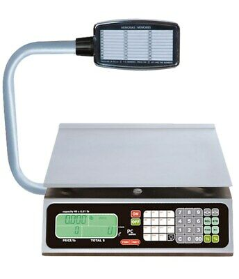 Torrey Pc-80l-t Price Computing Scale With Turret With Warranty