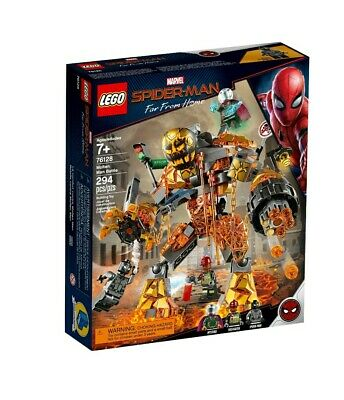 LEGO 76128 Marvel Spider-Man Far From Home Molten Man Battle