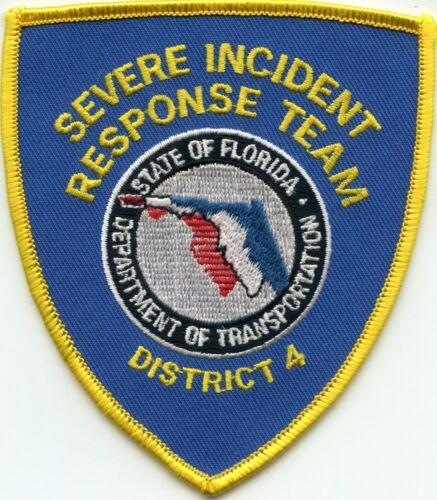 FLORIDA FL STATE Department of Transportation DOT SEVERE INCIDENT POLICE PATCH