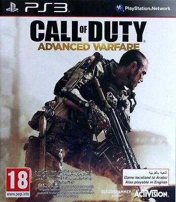 Call of Duty Advanced Warfare AW - Playstation 3 / PS3 Video...