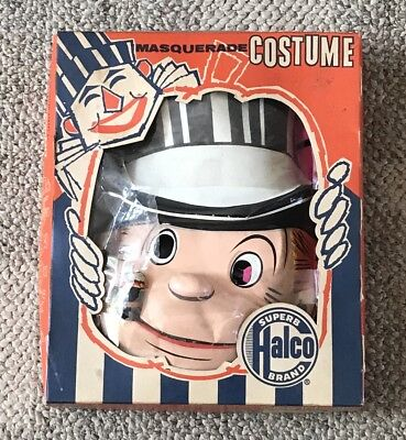 BRINGING UP FATHER  JIGGS  HALLOWEEN COSTUME  HALCO  C. 1950'S  1960 BOXED   - Up Characters Halloween Costumes