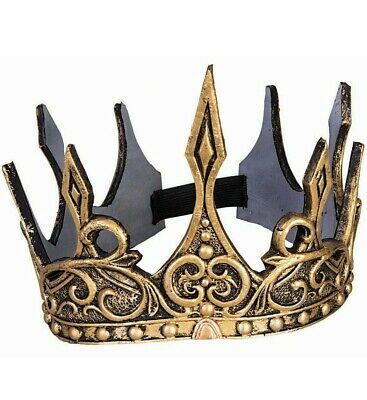 Gold Crown King Evil Queen Prince Princess Costume Accessory Game Thrones Cersei](Queen Crown Costume)