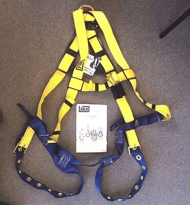 New Dbi Body Safety Harness Delta 1102526 Work Crew Fall Protection Size Um-xl