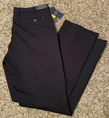 NEW Polo Ralph Lauren Mens Stretch Classic Fit Chinos Pants Blue Size 34x32 NWT