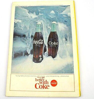 Antiquitäten Anzeigen (Coca-Cola Coke Anzeige USA komplettes Heft National Geographic Magazine 7/1964)