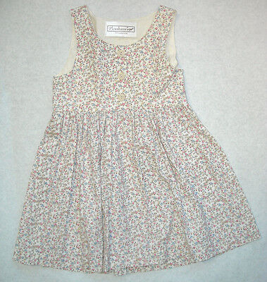 Country Classic Cotton Jumper Girls & Mom's Sizes – Pretty Pink on Ivory - Girls Country Dress