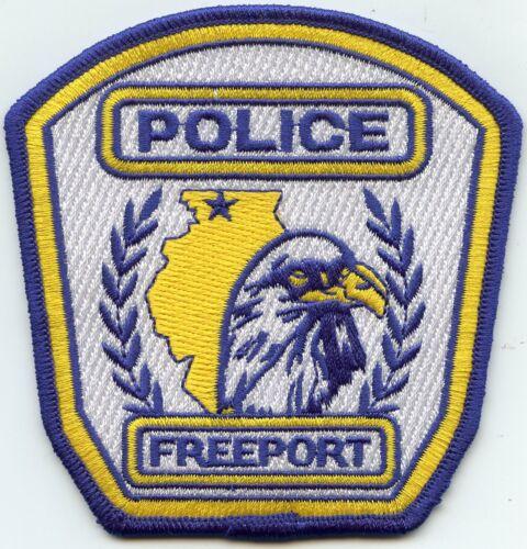 FREEPORT ILLINOIS IL POLICE PATCH