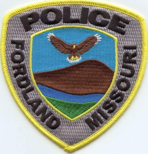 FORDLAND MISSOURI MO POLICE PATCH