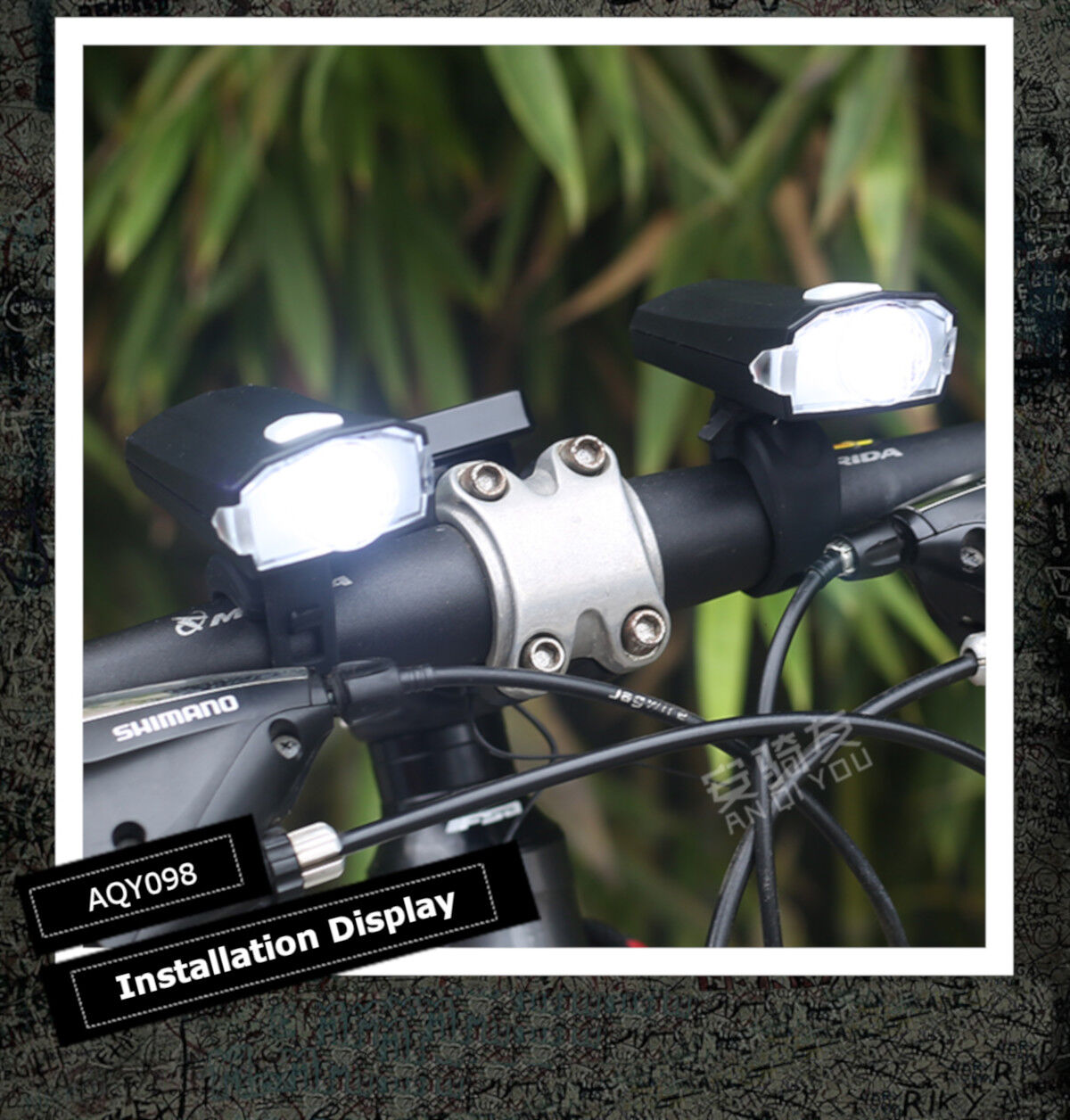 5000lm XPE LED USB Rechargeable Bicycle Bike Headlight Front Lamp Torch Light