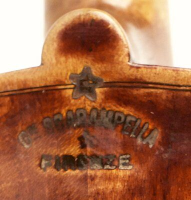 100% STAMPED AND LABELED old italian violin 4/4 violon geige violino 小提琴 ヴァイオリン