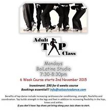 Adult Tap Class -  6 week course - MON NOV 2nd Joondalup Joondalup Area Preview