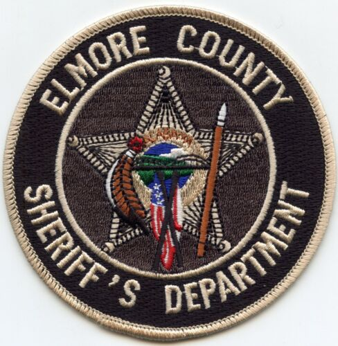 ELMORE COUNTY ALABAMA AL SHERIFF POLICE PATCH