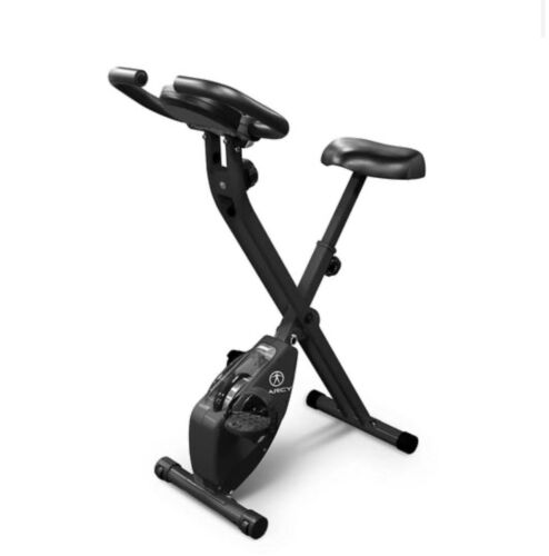 Marcy NS654 Foldable Spinning Exercise Bike - Black