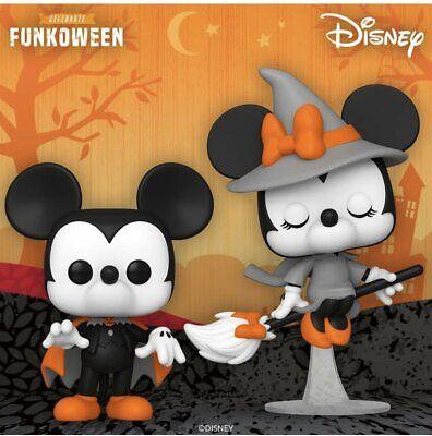 Funko Pop Disney Halloween 2 Pop Bundle Witch Minnie and Spooky Mickey {Pre-Orde