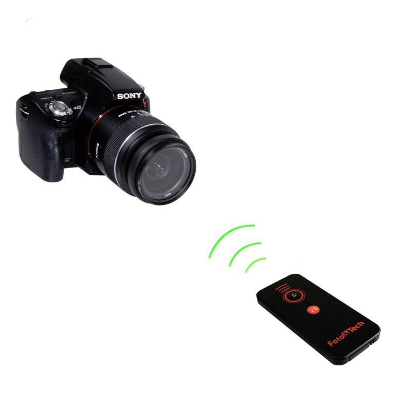 Wireless Remote Control for Sony A7R IV III,A7III II A9 A7 A7S A6500 A6400 A6000