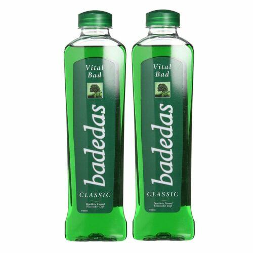 2 Bottle of Badedas Classic Original Vital Bad Bath Gel, 2x 500 ml/16.9 oz.