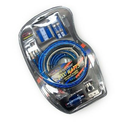 American Accessories PowerKit-9 Complete Car Audio Installation Wiring Kit 2000W