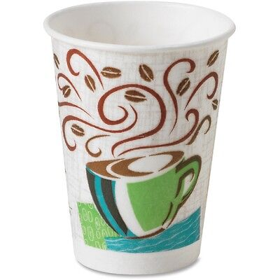 Dixie Perfect Touch Hot Cup Wise Size 8 oz 25/PK Multi 5338DXPK