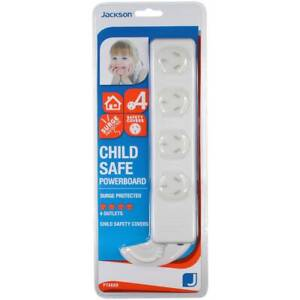 NEW & SEALED: Jackson 4-Way Child Safe Surge-Protected Powerboard Abbotsford Yarra Area Preview