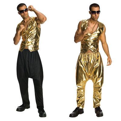 MC Hammer Pants (Choose Your Color) Parachute Vanilla Ice  Rap Mens Costume](Rap Costume)
