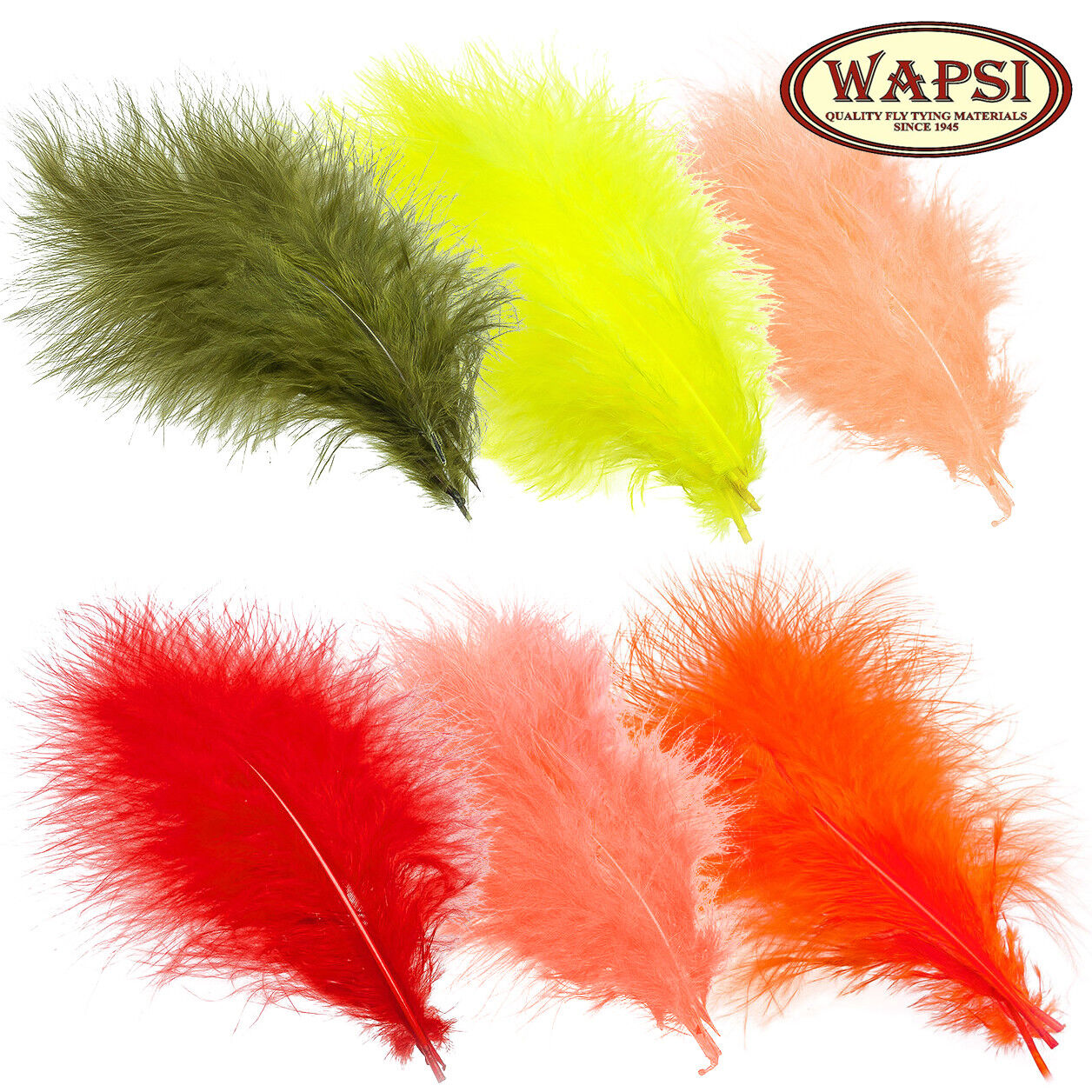 Strung Marabou Plumes1//2 oz Superfly Fly Tying Feather Material Quills 4 Colors