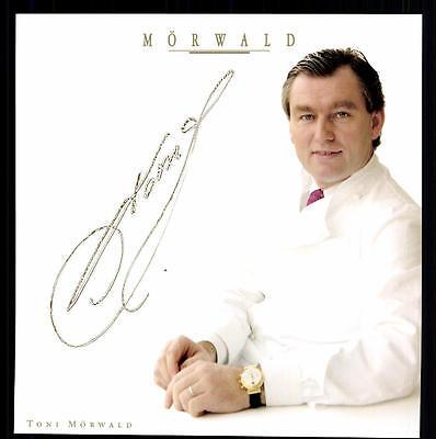 Toni Mörwald Autogrammkarte Original Signiert  ## BC G 13068