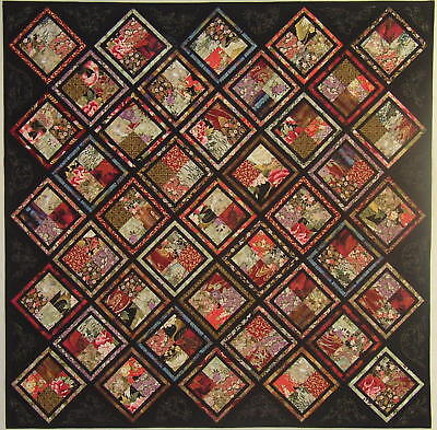 Chinese Magic Quilt Kit Asian Japanese Oriental Quilting 33 Different Fat 8S Diy