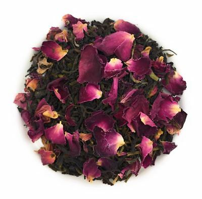 Rose Green Tea Natural Petal Fresh Blend 500 Grams Healthy Beverage   Fl 1