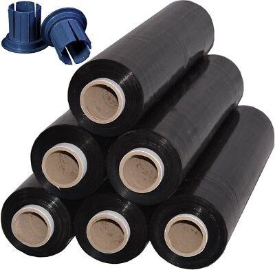 10 Abroller Miniroller Handabroller blau Stretchfolie für Kerndurchmesser 38mm