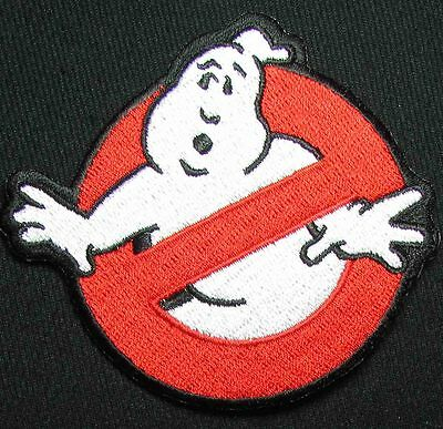 GHOSTBUSTERS NO GHOST SYMBOL MOVIE LOGO HALLOWEEN COSTUME BADGE VELCRO® PATCH