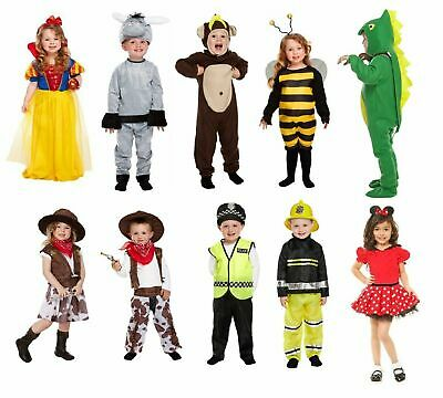 NEW FANCY DRESS COSTUME TODDLER Kids Children Outfit Age 2-4 Party Boys Girls UK](Toddler Fancy Dress Uk)