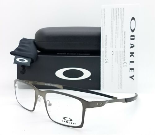 NEW Oakley Base Plane RX Eyeglasses Frame Satin Cement AUTHENTIC OX3232-0352