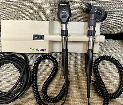 Welch Allyn 767 Wall Transformer W Heads 23810 Microview 11720 Ophthalmoscope
