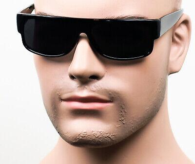 Gangster Easy E Cholo Black Super Dark Sunglasses LOC Lowrider OG Style NL40 SD (Gangster Black)