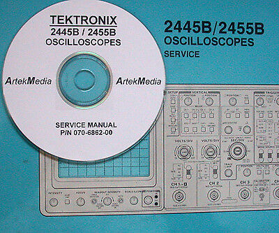 Tektronix 2445b 2455b Service Manual