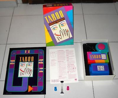 TABOO Il gioco delle parole vietate – MB Giochi 1993 OTTIMO usato  Settimo Torinese