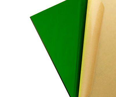 Green Transparent Acrylic Plexiglass Sheet 18 X 12 X 12 2092