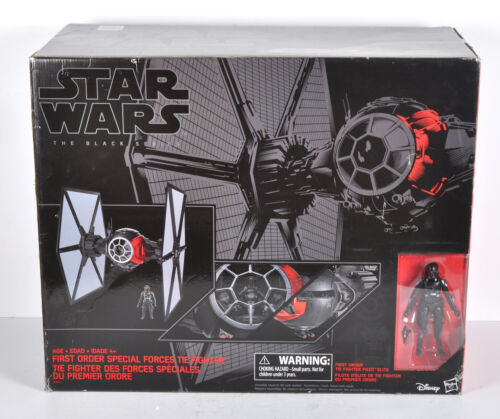 Hasbro Star Wars Black Series 01 First Order Special Forces TIE Fighter B3954