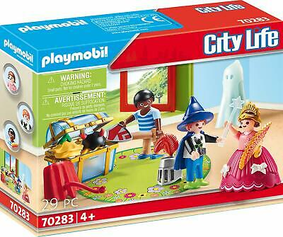 PLAYMOBIL® KiTa 'Regenbogen' 70283 Kinder mit Verkleidungskiste, neu, - Kinder Verkleiden