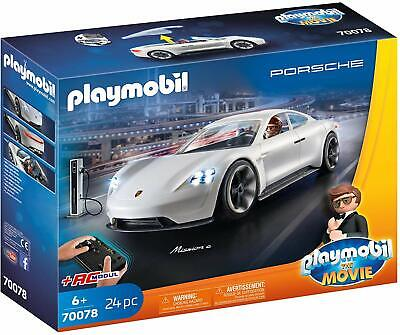 Playmobil The Movie 70078. Porsche Mission E y Rex Dasher. Más de 6 años
